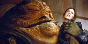 be like jabba the hutt